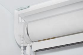 крепление рулонной шторы стандарт на потолок