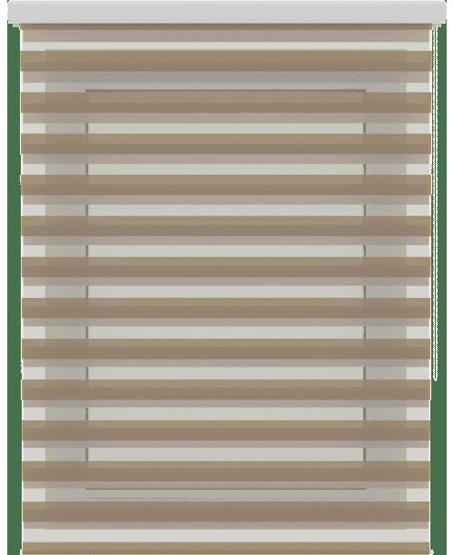 рулонные шторы день-ночь зебра на проем окна