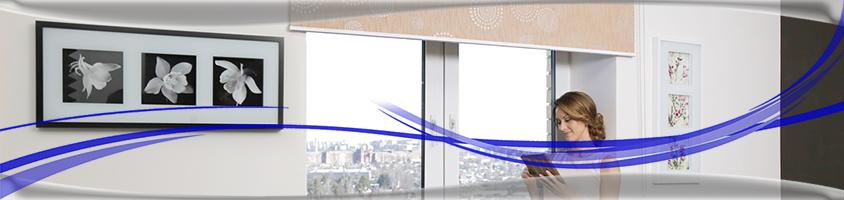 Рулонные шторы на большие проемы