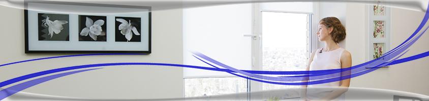 Открытые рулонные шторы